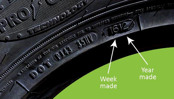 Tire tread and pressure