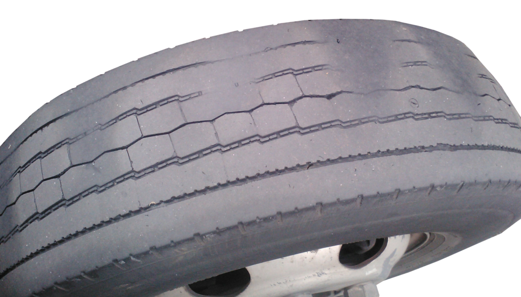 Tire tread and pressure