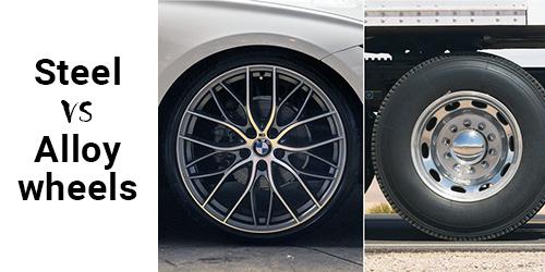 steel or alloy wheels