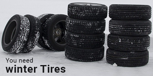 You need winter Tires