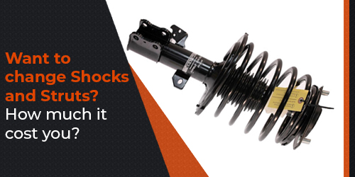 Want to change Shocks and Struts? How much it cost you?