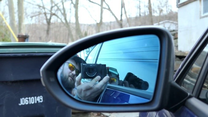 Uninstalling ECS Heated Blind Spot Mirror - Install VW OEM Blind Spot mirror  - YouTube