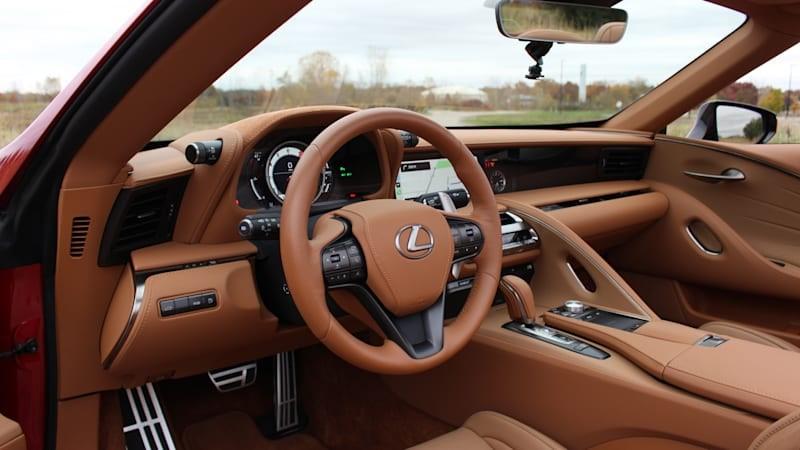 2021 Lexus LC 500 Convertible Interior Driveway Test | Photos, video - News  AKMI