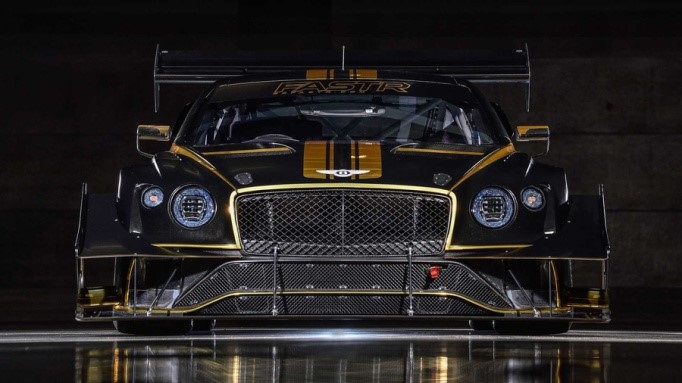 Bentley Continental GT3 grows wings to conquer the Pikes Peak Hill Climb    Autoblog